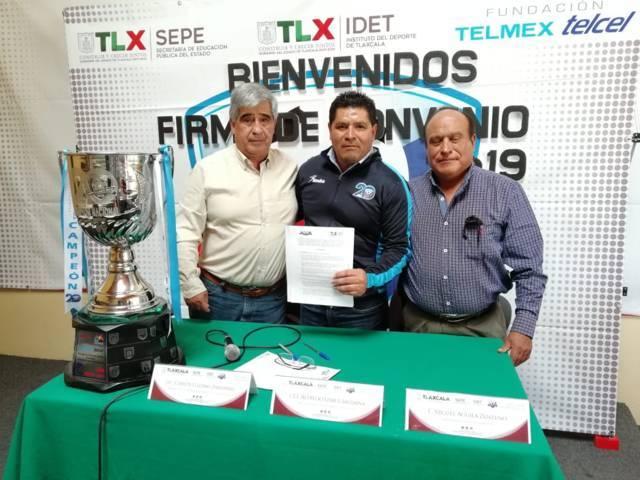 Firman convenio Idet y Copa Telmex-Telcel
