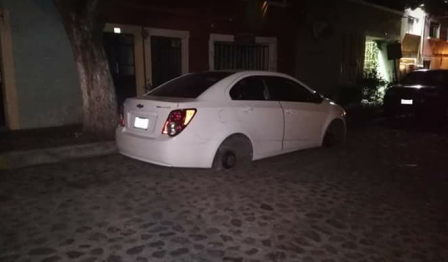 Hampones de autopartes se pitorrean de policía municipal de Tlaxcala