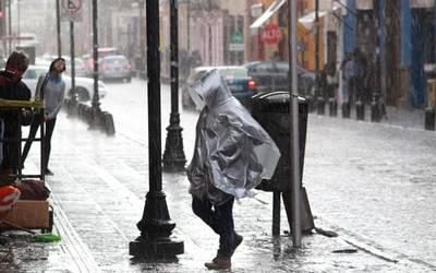Se prevén lluvias muy fuertes en Chiapas, Chihuahua, Coahuila, Colima, Durango, Estado de México, Guerrero, Jalisco, Michoacán y Oaxaca