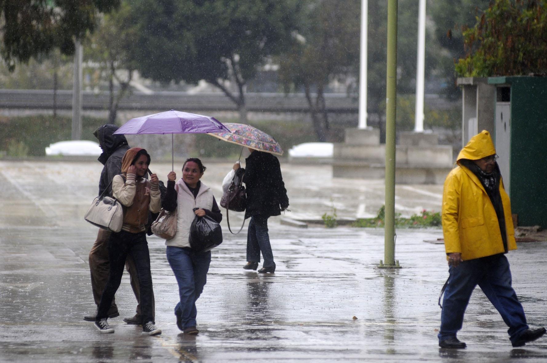 Se prevén tormentas muy fuertes y ambiente frío para Tlaxcala