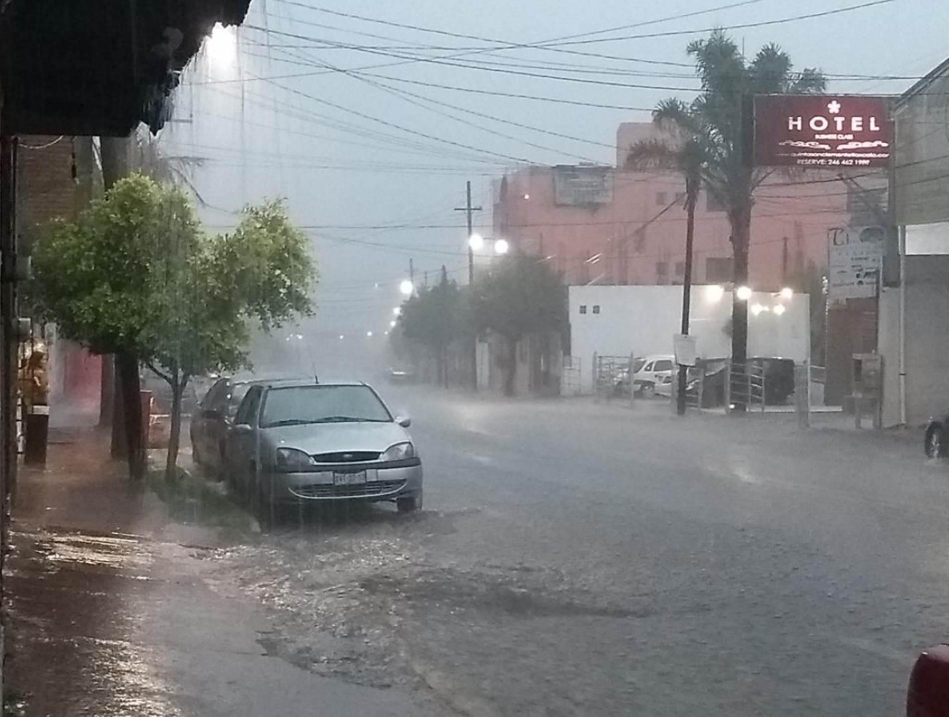 Continuarán las lluvias en Tlaxcala con probabilidad de granizo