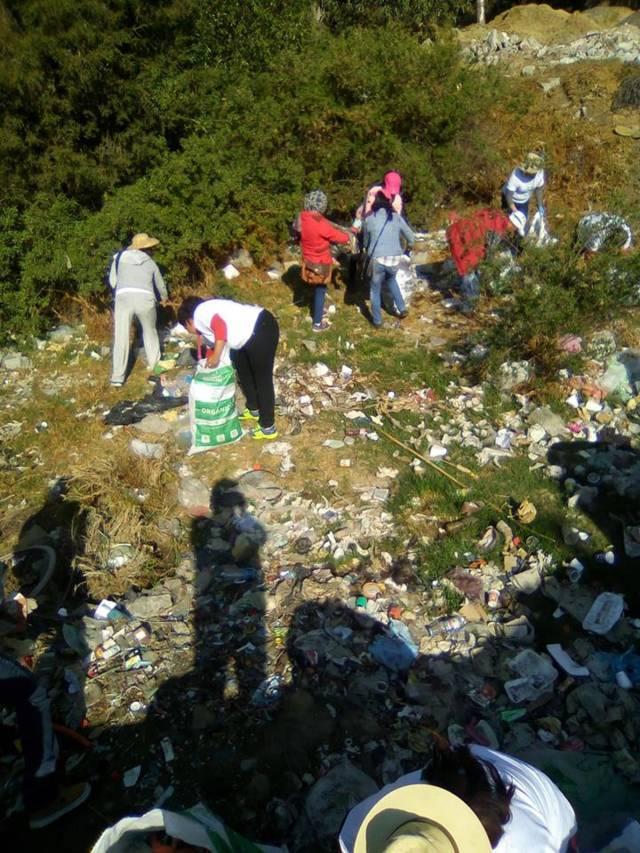 Tlaltelulco se unió a la campaña nacional Limpiemos Nuestro México