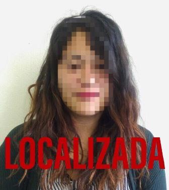 Ubican autoridades a mujer reportada como extraviada