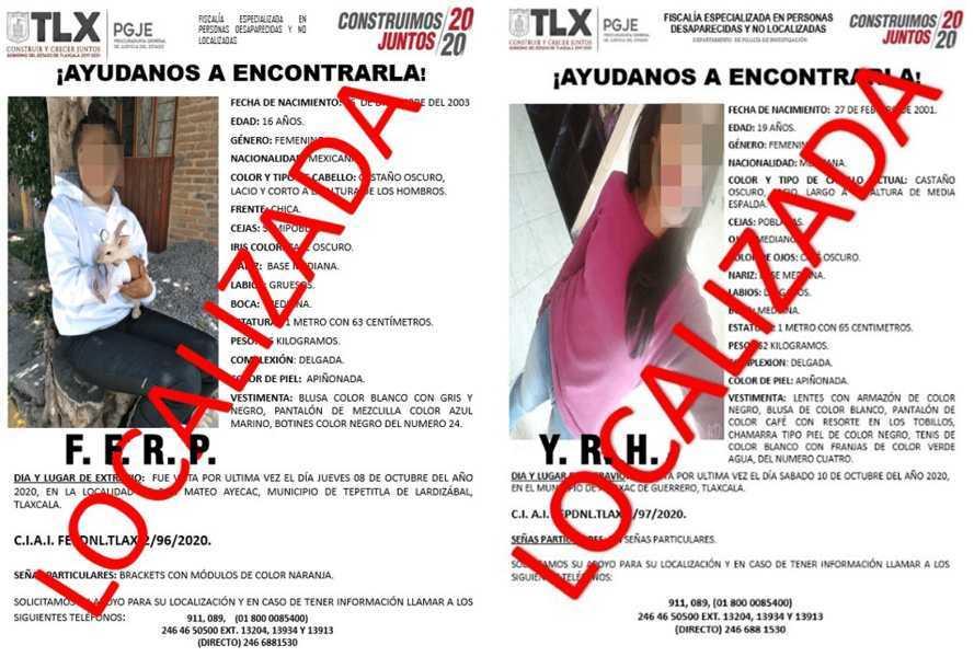 Nuevamente encuentran a dos mujeres desaparecidas que andaban con el novio