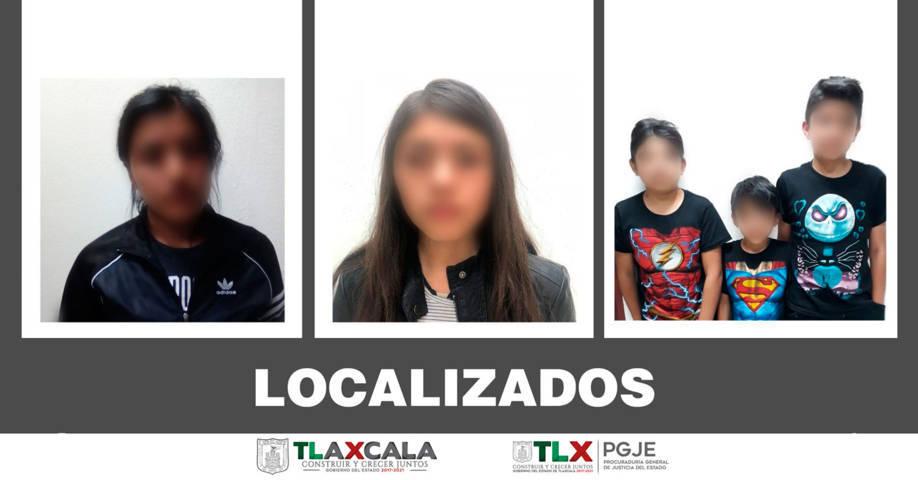 Localizan a menores desaparecidos, una de ellos se había escapado con el novio