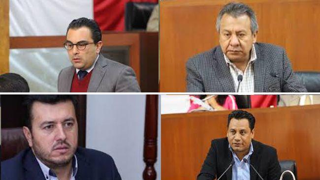Ex diputados transas al banquillo de los acusados