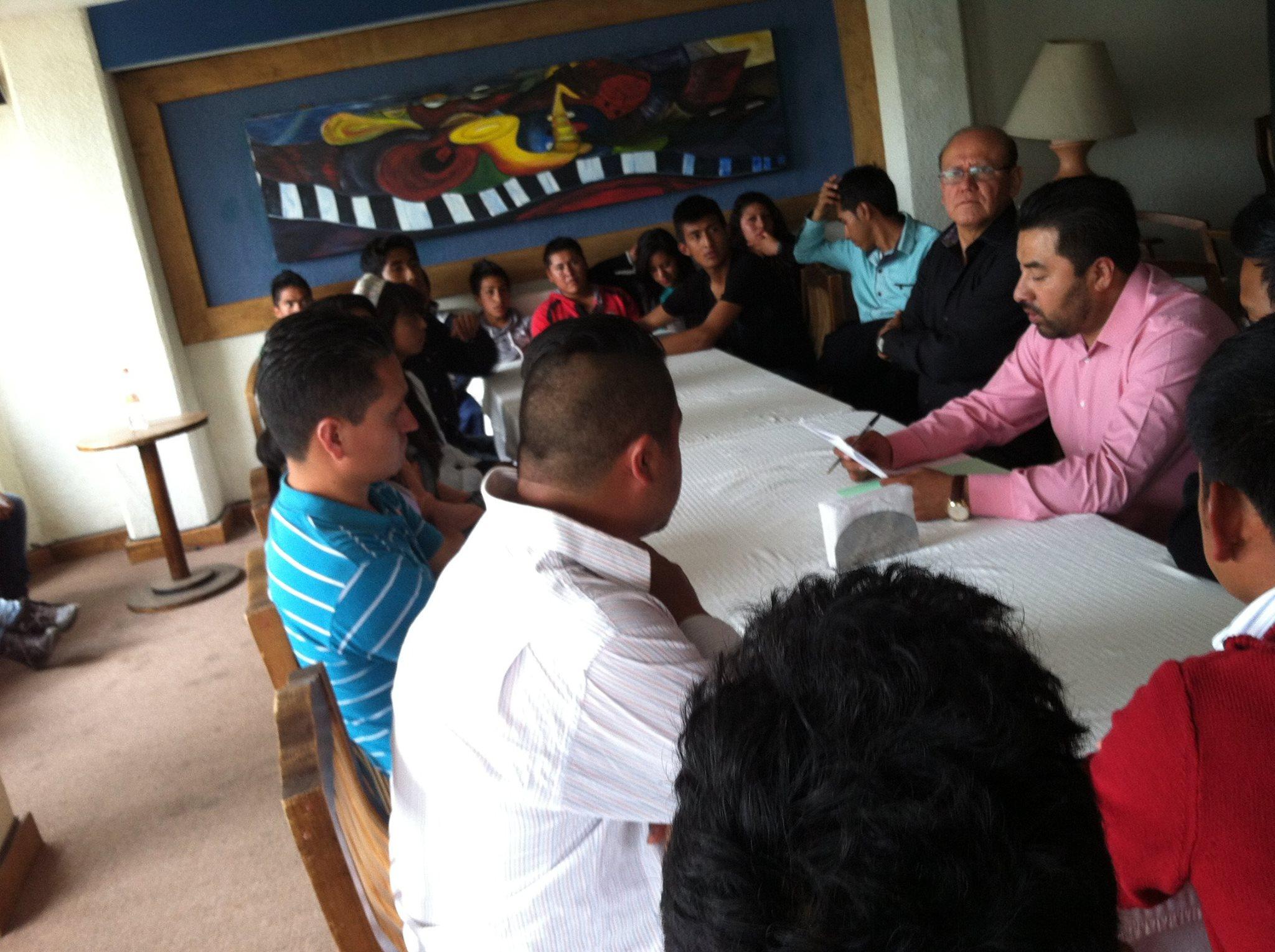 La comisión presionadora de Fnerrr Tlaxcala es atendida