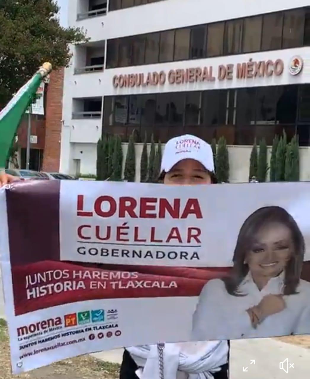 Hasta en el extranjero van con Lorena