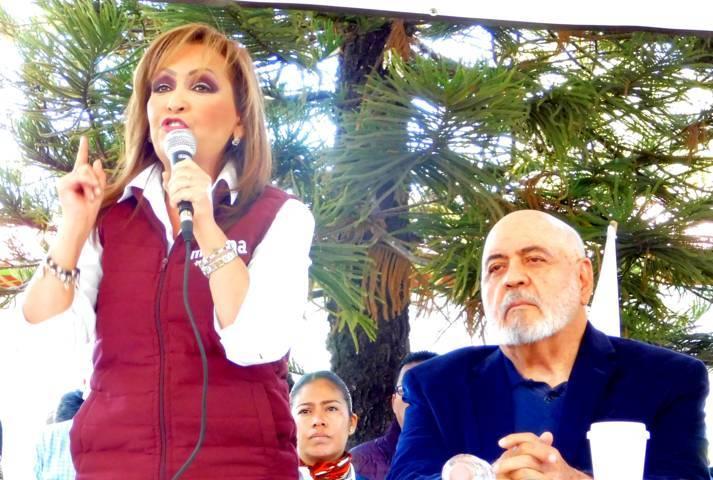 Lorena va a las urnas por la diputación federal
