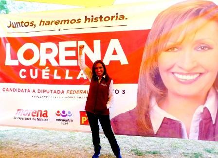 Adversarios de AMLO están desesperados por visita a Tlaxcala: Lorena