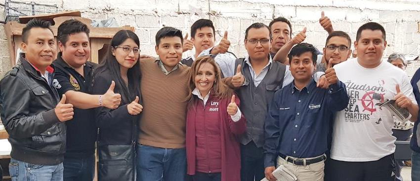 Fin a la reforma educativa y becas propone Lorena Cuéllar