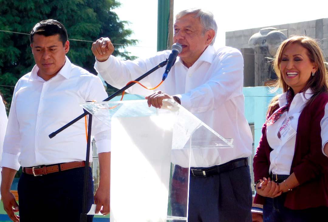 Los 100 días de AMLO en Tlaxcala
