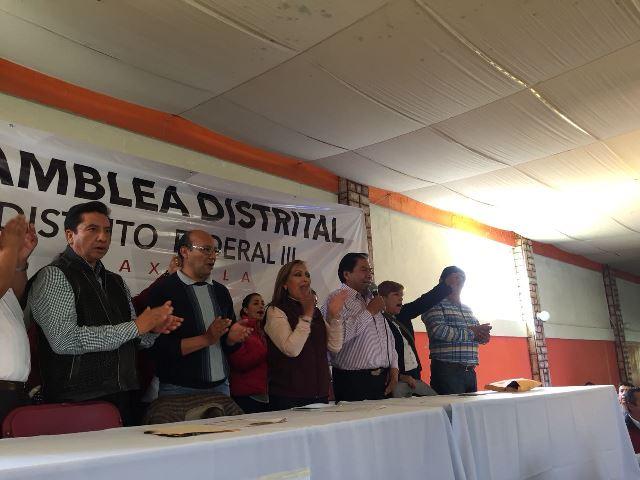 Morenistas aplauden que Lorena Cuéllar vaya a ser la candidata al distrito III