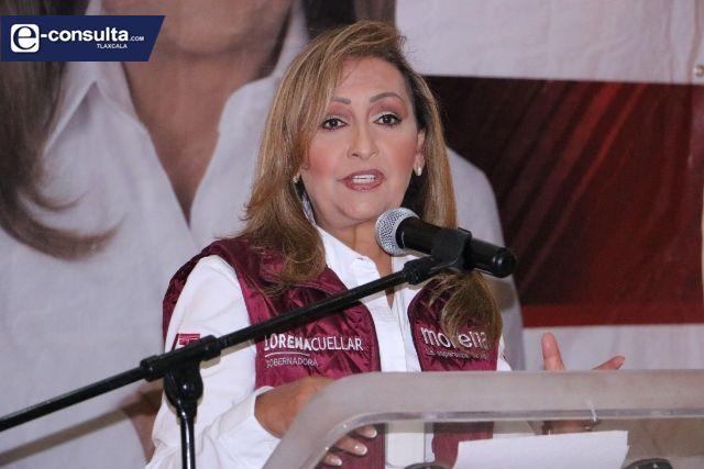 Tlaxcala ya decidió que gobernará la Cuarta Transformación: Lorena Cuéllar