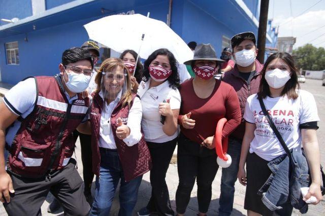 Tecnología de punta para mejorar la seguridad promete Lorena Cuéllar