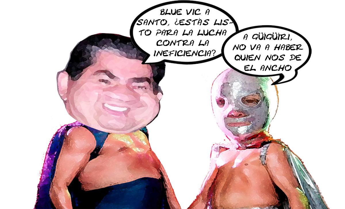 Dos estrellas del cuadrilátero para dar su mejor lucha en Tlaxcala