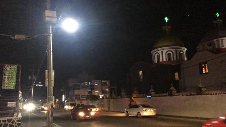 Ilumina Xicohtzinco más de 1km con lámparas led