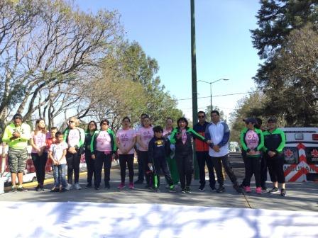 Corren más de 400 mujeres sin miedo en la capital tlaxcalteca