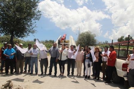 Mendieta Lira rehabilita alumbrado en la calle Cuauhtémoc