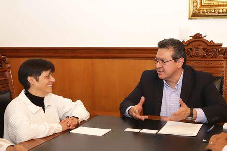 Pacta gobernador Mena y la Conagua inversión para Tlaxcala