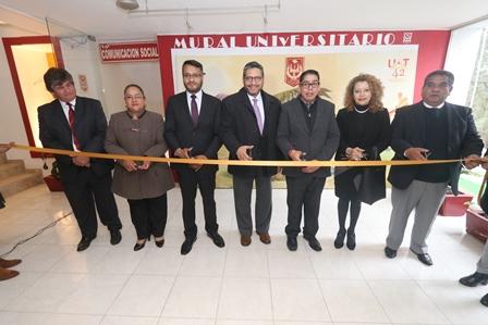 Habilitó la UAT espacio para Mural Universitario
