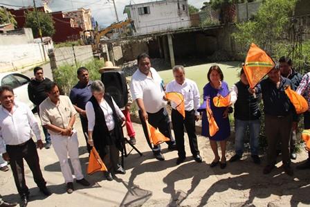 Alcalde pone en marcha construcción de la escuela de música en Mazatecochco