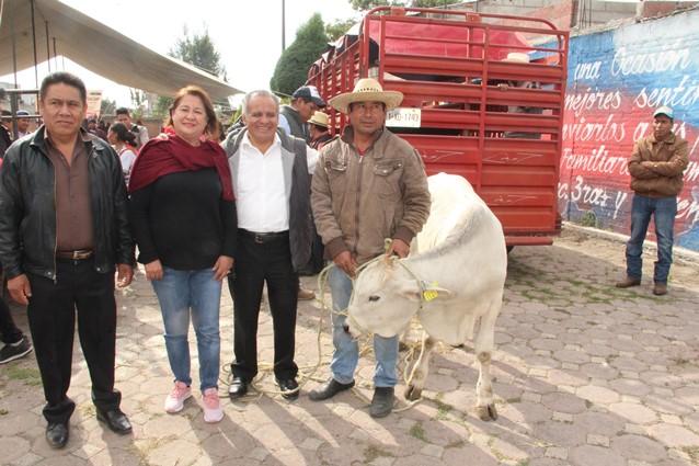 Con 1.2 mdp se benefició  a 145 productores de Mazatecochco: alcalde