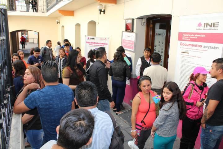 En Tlaxcala, MAC del INE a la espera de trámites de credenciales para votar