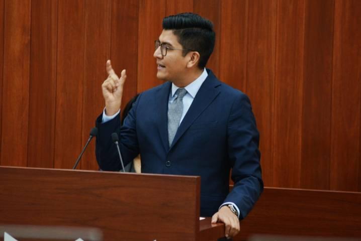 Propone Diputado partida presupuestal para Estudios Legislativos del Congreso