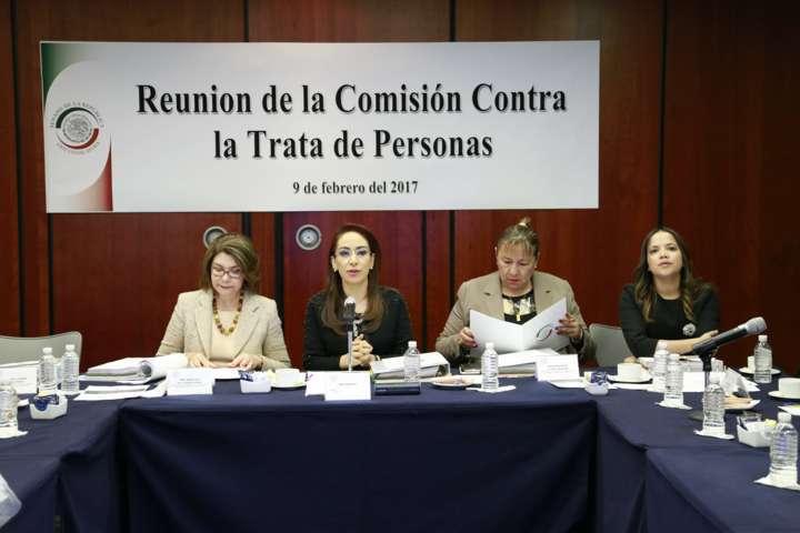 Urgen a la Cámara de Diputados a aprobar minuta en materia de trata de personas