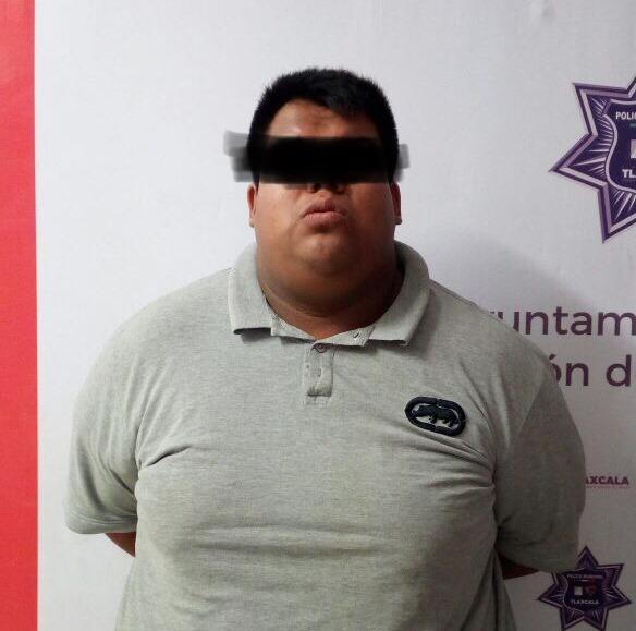 Atrapa policía capitalina a peligroso delincuente de Tlaxcala