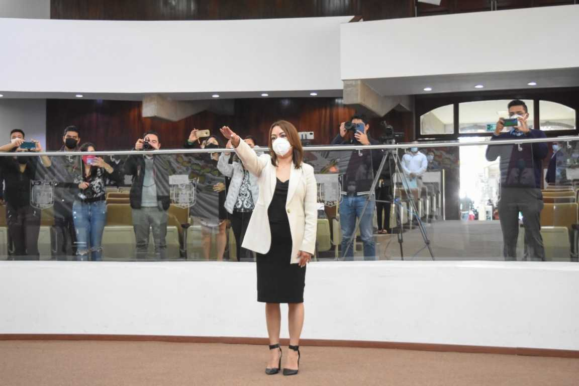 Nombra Congreso de Tlaxcala a Fanny Margarita Amador como nueva magistrada del TSJE