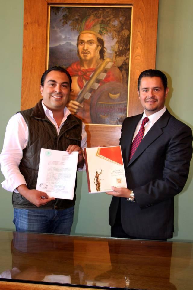 Presenta Héctor Maldonado al Congreso primer informe de actividades