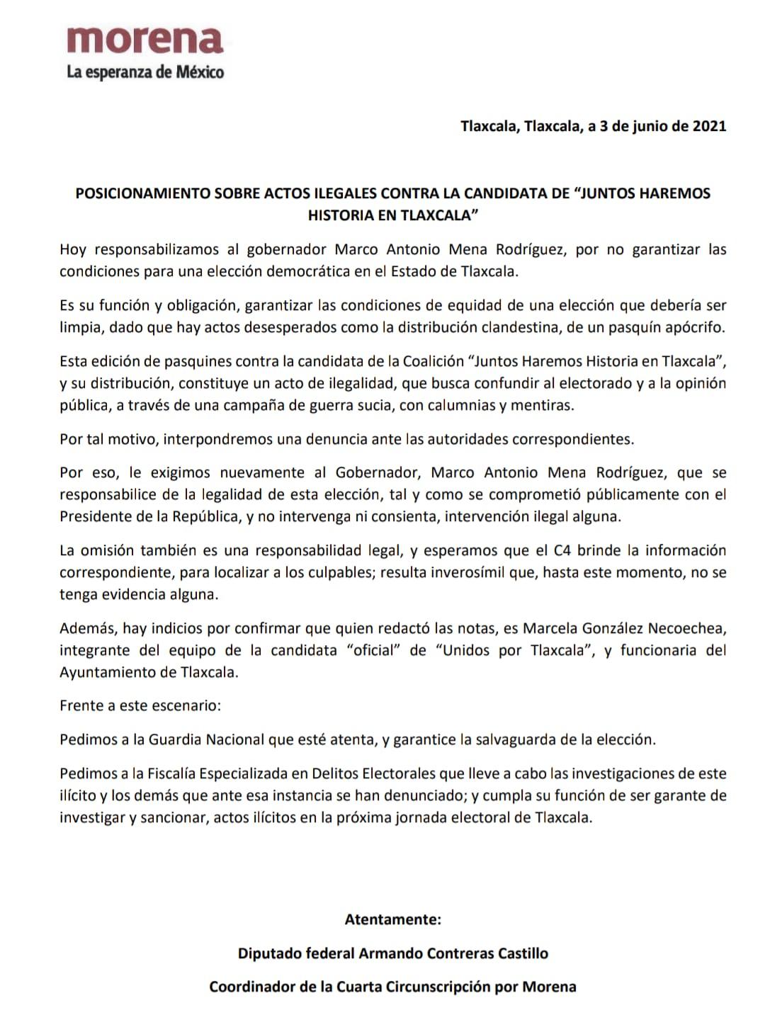 Marco Mena, responsable de la guerra sucia contra Lorena Cuéllar