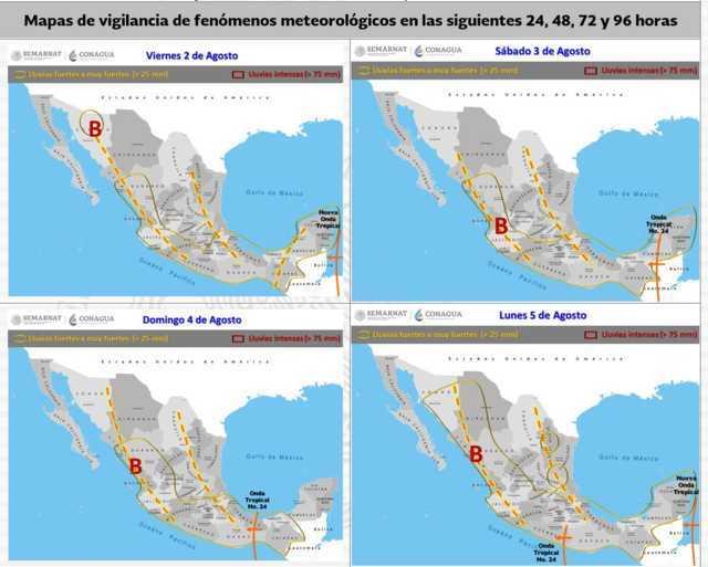 Para las próximas horas se pronostican lluvias muy fuertes en Tlaxcala