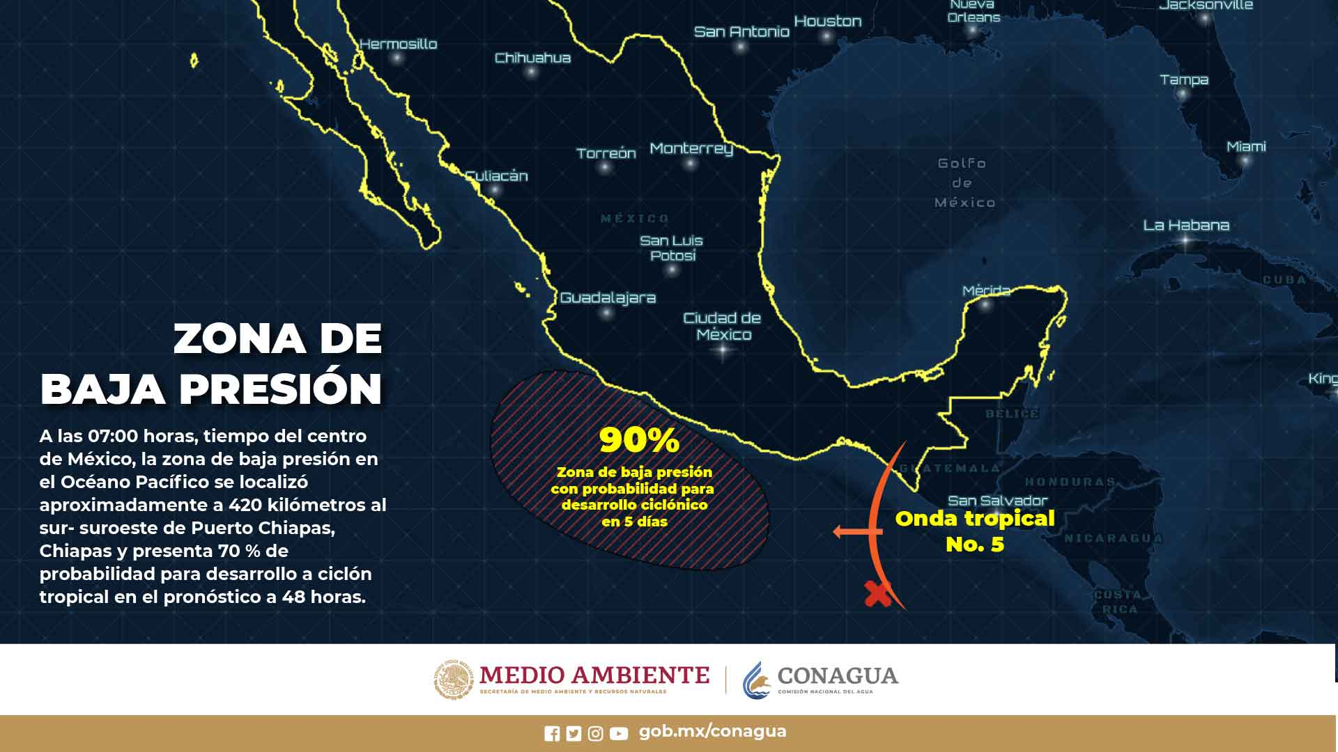 Continuarán las lluvias en Tlaxcala y el resto del país