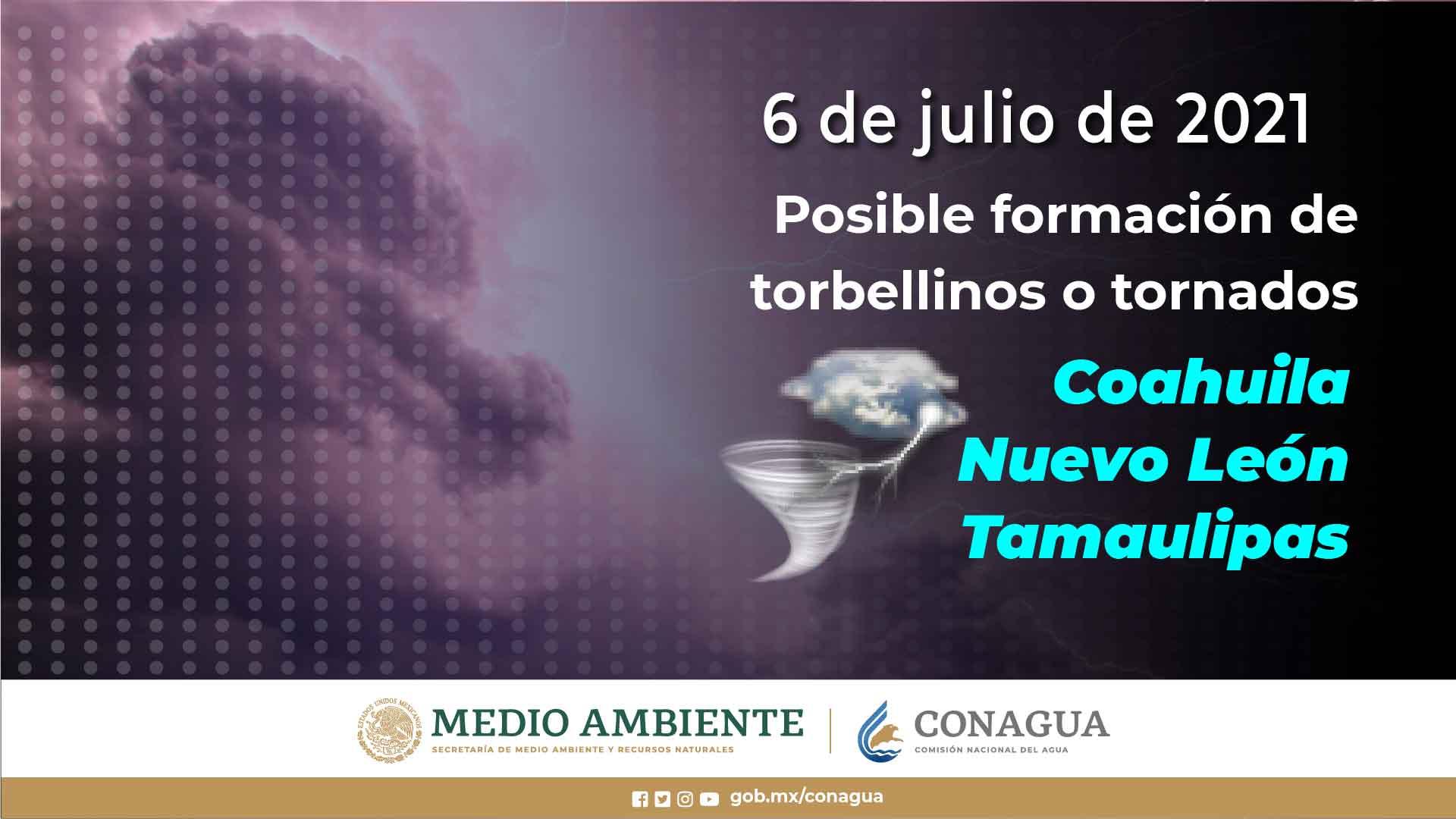 Continuarán las lluvias en Tlaxcala esta semana