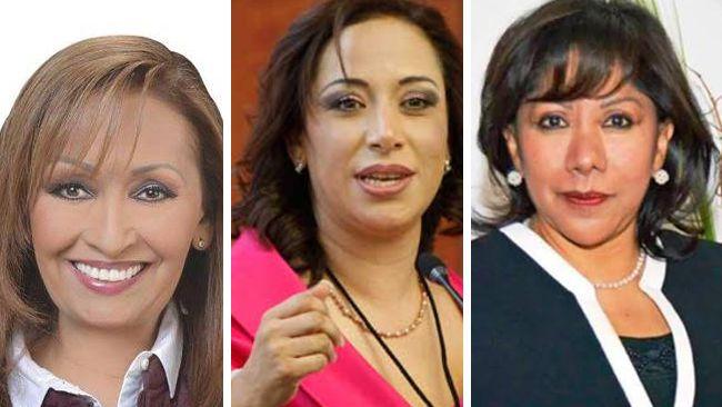 Cinco mujeres buscan la grande en sucesión 2021