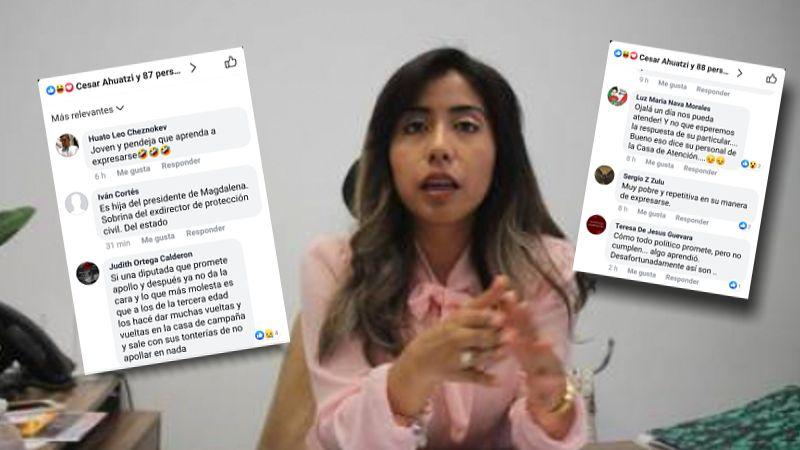 María Félix Pluma busca reflectores y la tunden en redes sociales
