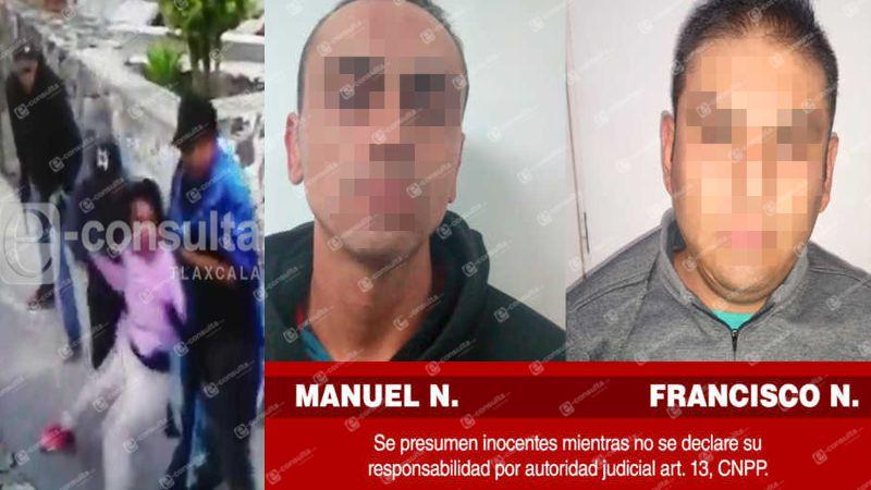 Detienen a dos hombres que secuestraron a mujer en Huamantla