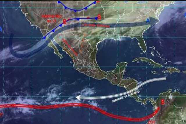 Pronóstico del tiempo en México para lunes 9 de diciembre del 2019