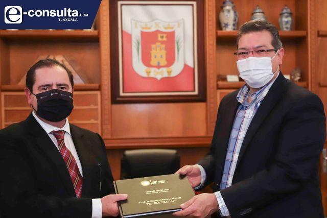 Marco Mena resalta trabajo coordinado con el Poder Judicial