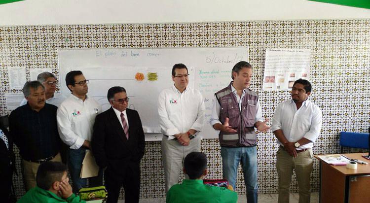 300 millones de pesos para escuelas afectadas de Tlaxcala: Aurelio Nuño