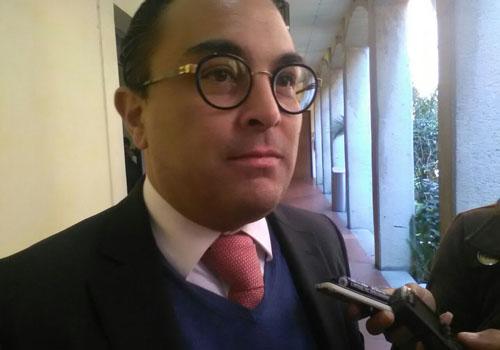 Firme la designación de Álvaro García ante el CJ: González