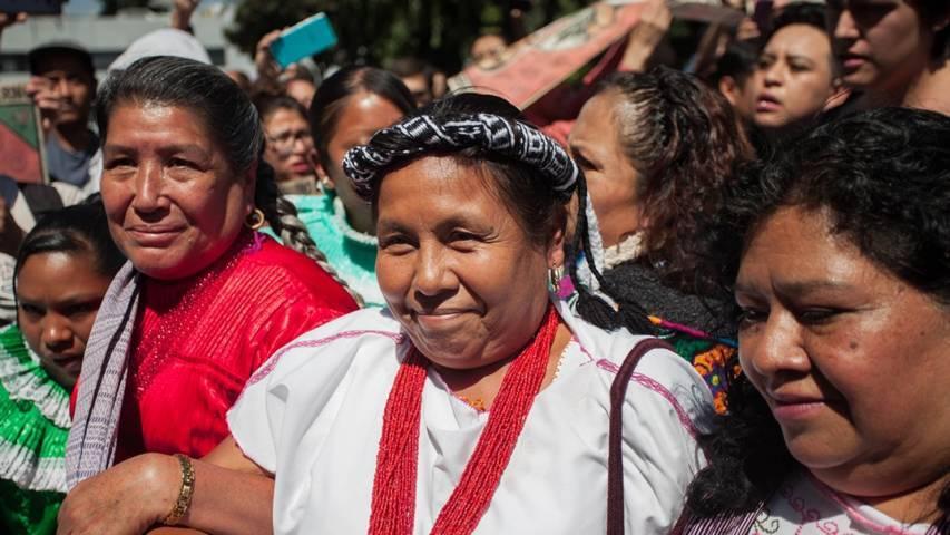 Previó Marichuy en Tlaxcala que quedaría fuera de la candidatura