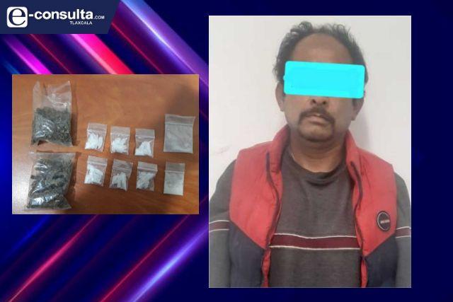 Detienen a persona con portación de envoltorios de narcóticos y enervantes en Ixtacuixtla