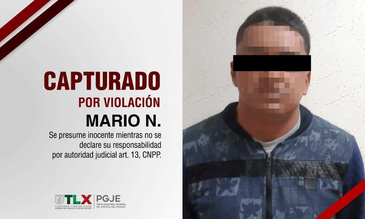 Violó en repetidas ocasiones a su hijastra menor de edad en Atlangatepec