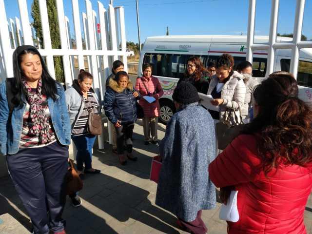 Atienden a mujeres de Atlahapa con campaña de mastografía
