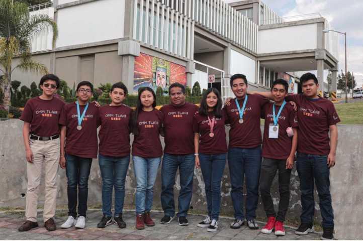 Triunfan tlaxcaltecas en Olimpiada Nacional de Matemáticas