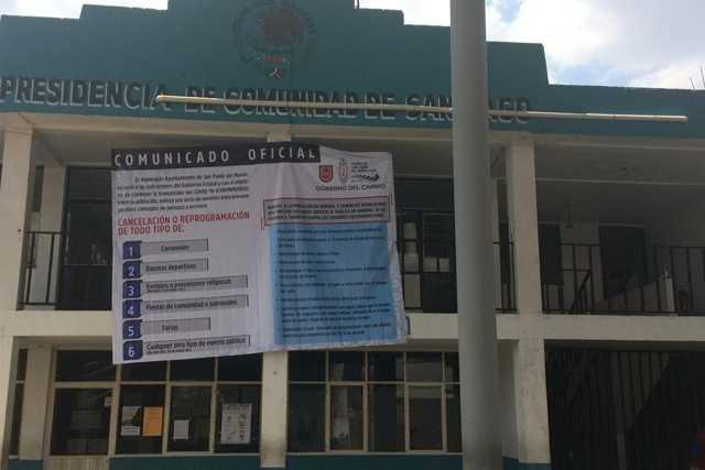 Fortalecen campaña de prevención en San Pablo del Monte